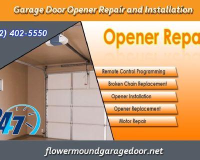 Garage Door Opener Repair and Installation ($25.95) - Flower Mound  Dallas,  75022 TX