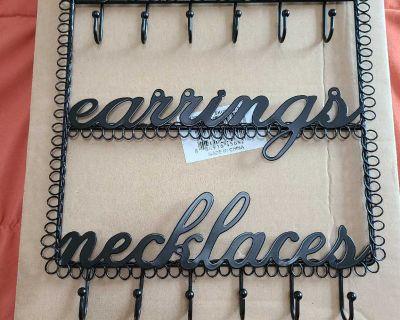Hanger for Bracelets, Earrings, & Necklaces