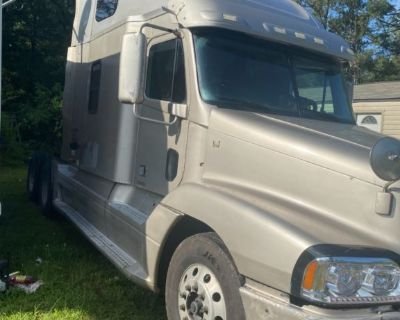 2005 freight liner century and 2000. 53' wabash trailer
