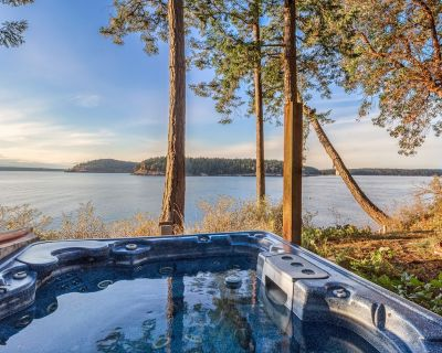 NEWLY LISTED! WATER VIEW!! HOT TUB!! Dog Friendly! (The Space Between) - Friday Harbor