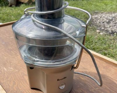 BREVILLE FOUNTAIN JUICER: $30