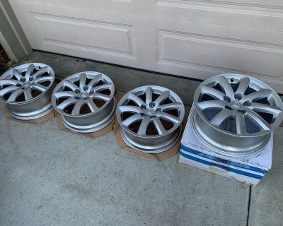 "Set of 18"" Factory OEM Rims for Lexus LS460"