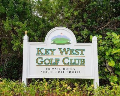 Absolute Paradise at the Golf Course - Key West