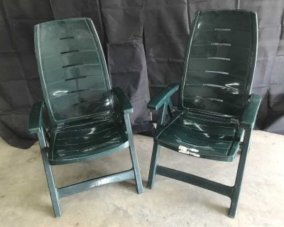 plastic foldable patio chairs
