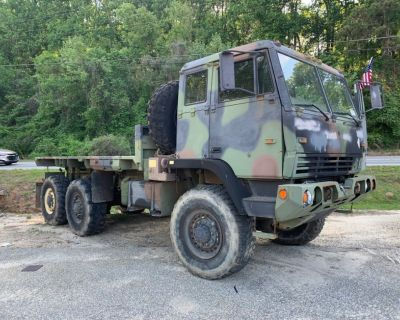 1997 Stewart & Stevenson M1093 MTV 6x6 Cargo Truck