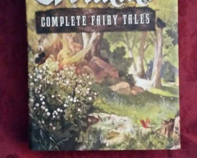 New Hardback Grimm's Complete Fairy Tales .This book spells Magic. Great addition for your library young or old 5 pics