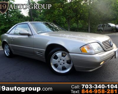 Used 1999 Mercedes-Benz SL-Class SL500 Roadster