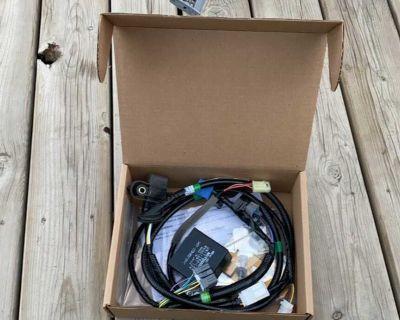 Trailer hitch wiring harness