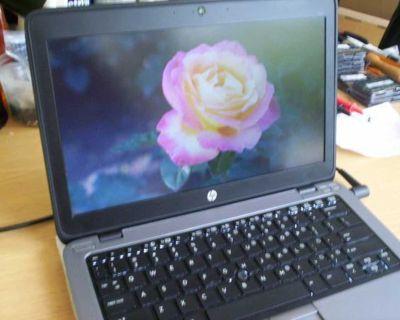 """HP EliteBook 12.5"""" Intel i7 8GB 128GB SSD Web Cam Win 10"""