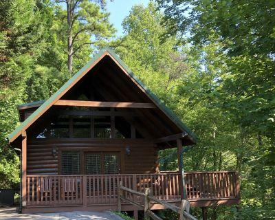 Cozy & Romantic Cabin w/ View-5 min to Downtown Gatlinburg! EZ Winter Access - Black Bear Falls