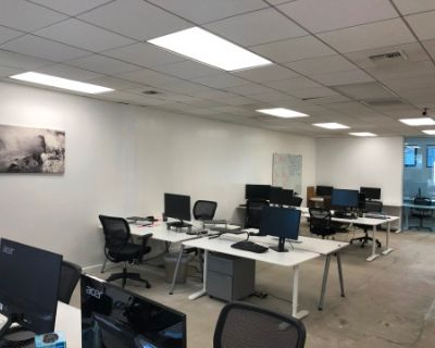 Full Floor Office Suite for Meetings, Media Projects, and More, Santa Monica, CA