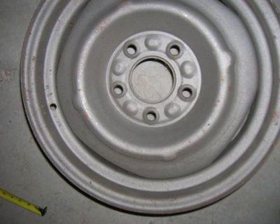 Gm Wheels 15 X 6 Disc Brake 55-80 ..corvette