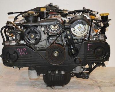 Jdm Ej20 99-02 Subaru Legacy Engine Ej20 Forester Sohc Motor Ej20de Ej25 Ej25de