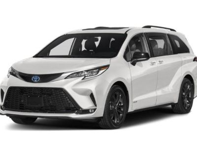 New 2021 Toyota Sienna XSE FWD Mini-van, Passenger