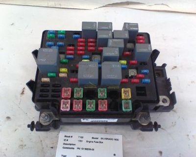 Chevy Silverado 1500 Engine Bay Fuse Box 2006 15139209