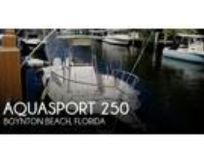 25 foot Aquasport 250 Osprey