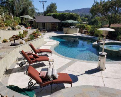 Backyard Oasis with Swimming Pool, Encino, CA