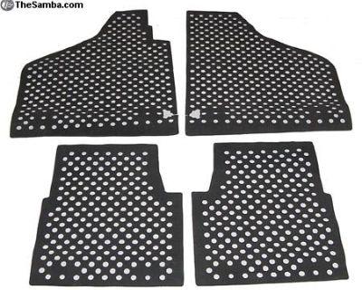 New Thing Shop Rubber Floor Mat Set