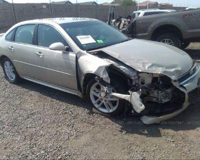 Salvage Tan 2011 Chevrolet Impala