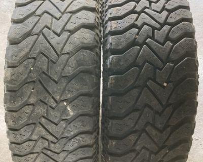 Goodyear used 17 inch mud grip tires lt265/70r17