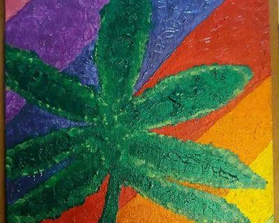 CannaLove Rainbow VIBES Pearlescent Painting!