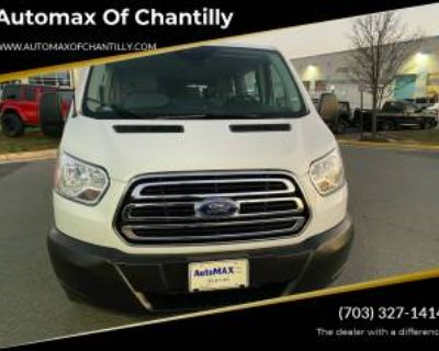 """2019 Ford Transit Passenger Wagon T-350 XLT with Swing-Out RH Door 148"""" Low Roof"""