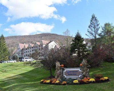 Wyndham Bentley Brook 2 Bedroom Deluxe, In & Out Ski Resort at Jiminy Peak - Lanesborough