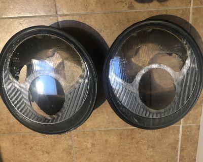 Porsche 993 headlight lenses