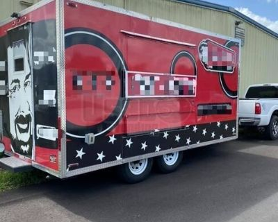 Ready to Work 2018 Kitchen Food Trailer in Impeccable Condition