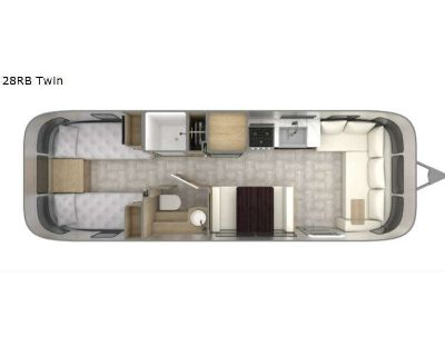 2022 Airstream Rv Pottery Barn Special Edition 28RB Twin