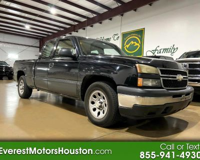 2007 Chevrolet Silverado 1500 Classic WORK TRUCK EXT CAB 4X2 LONG BED 1OWNER