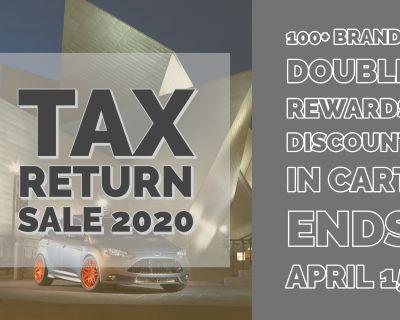 Tax Return Sale! - It's that time