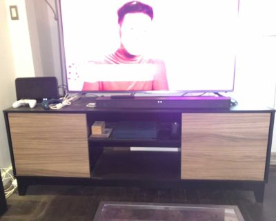 Tv/entertainment stand with cupboards