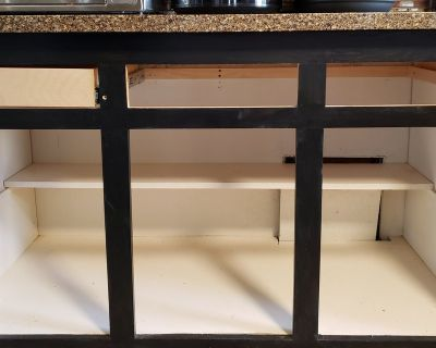JOB Install new kitchen drawers with soft closing slides
