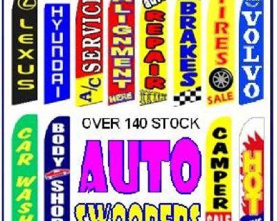 Custom and stock Flags, Air Dancers, Pennants, Pizza, Tax, Barber Flag