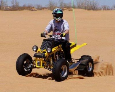 1992 Banshee Sand Drag Bike