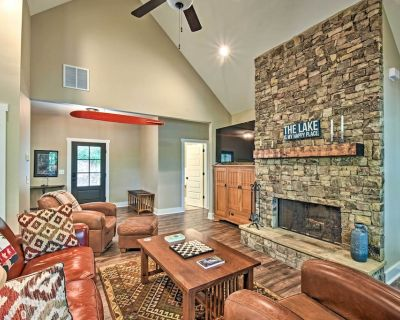 NEW! Lake Lanier Home w/ Game Room & Private Dock! - Gainesville