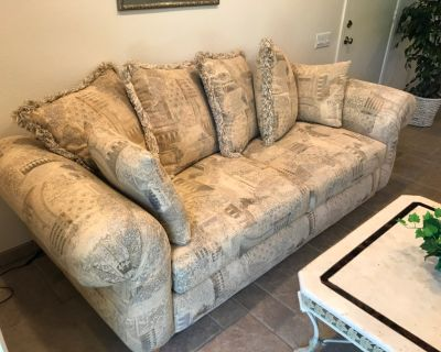 Couch, Loveseat, Coffee Table and Side Table