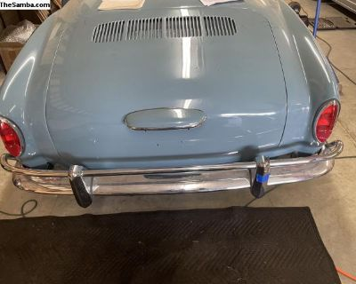 Karmann Ghia Bumpers for sale (Up to 1969)