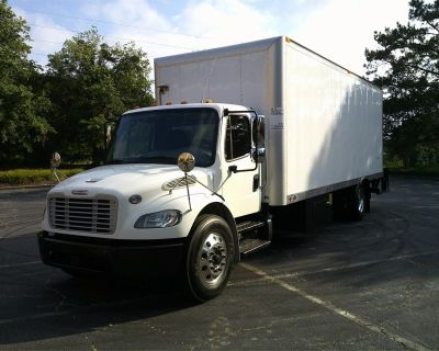 2017 FREIGHTLINER BUSINESS CLASS M2 106 Reefer, Refrigerated Trucks Heavy Duty