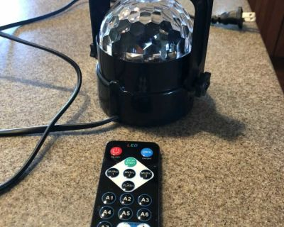 LED light projector and remote $7