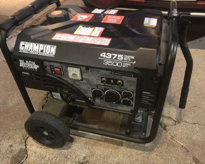 Champion 4375W / 3500W Generator