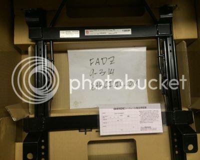 SoCal: FS: brand new bride RO type seat rails