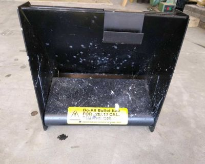 Bullet trap box