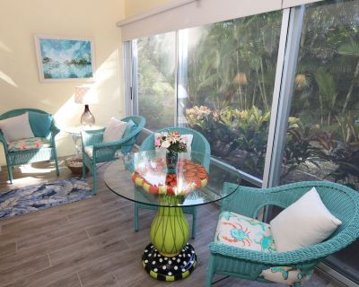 Attractive, Ground Level, One Bedroom Condo on Middle Gulf Drive! Spanish Cay F3 - Sanibel