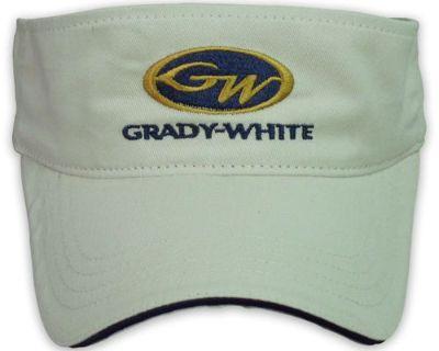 Grady White Boats Stone Sandwich Visor Hat