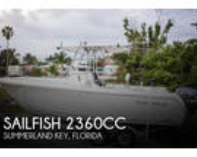 23 foot Sailfish 23