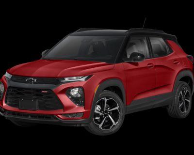 New 2022 Chevrolet TrailBlazer RS FWD 4D Sport Utility