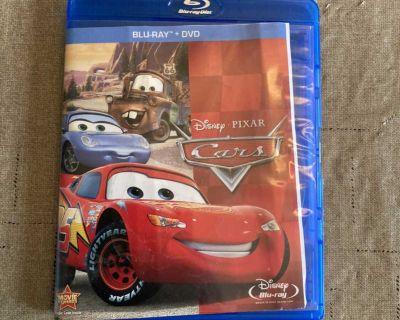 Cars Blu-Ray Disney Pixar