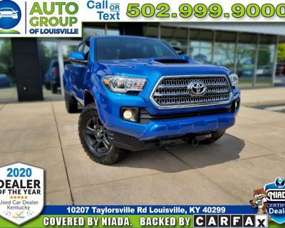 2017 Toyota Tacoma TRD Sport Double Cab Long Bed 4x4